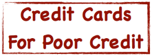 Credit cards for poor credit image