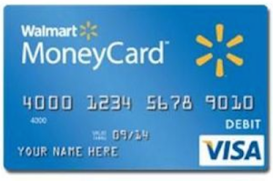 Walmart Money Card Image