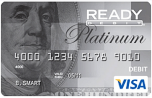ReadyDebit card image