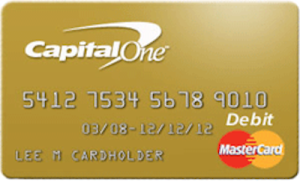 Capital One Prepaid Card Image