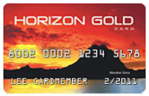 Horizon Gold credit card image
