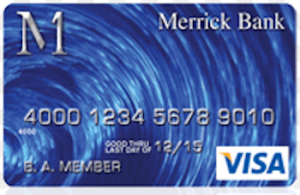 Merrick Bank Credit Card Image