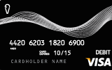 Vanilla debit card image