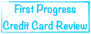 First Progress Credit Card Image