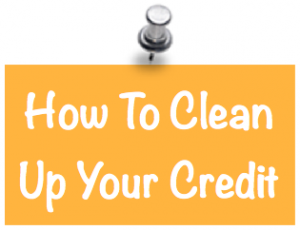 clean up credit report image