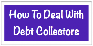 How to deal with debt collectors image