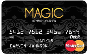 Magic prepaid card image