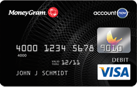 moneygram prepaid card image - Reloadable Prepaid Debit Card
