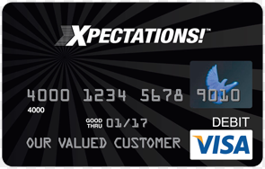 PLS prepaid card image