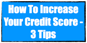 How to increase credit score image