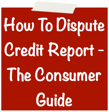 how to clear your bad credit report