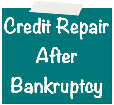 Credit Repair After Bankruptcy Image