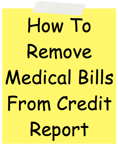 Medical bills and credit