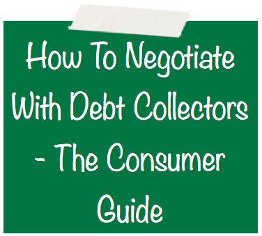 How To Negotiate With Debt Collectors Image